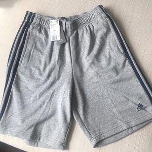 NWT Adidas Adidas gray classic sweat shorts